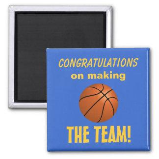Basketball Made the Team Magnet