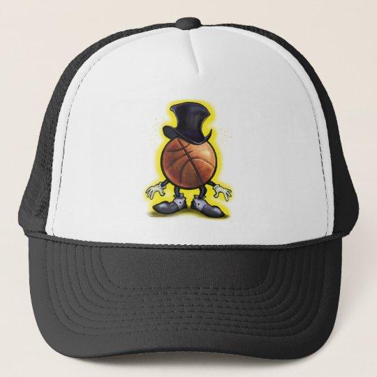 Basketball Magician Trucker Hat