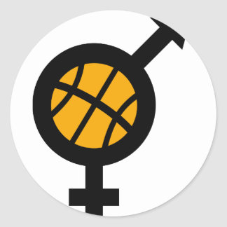 basketball male female icon stickers