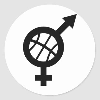 basketball male female stickers
