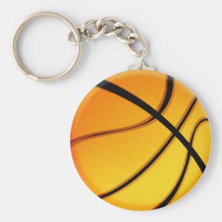 Basketball mania key-chain basic round button keychain