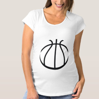 Basketball Maternity T-Shirt