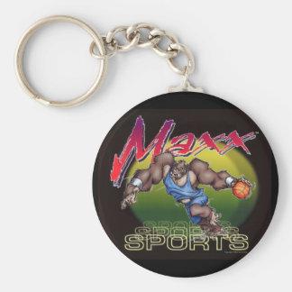 Basketball Maxx Key Chain
