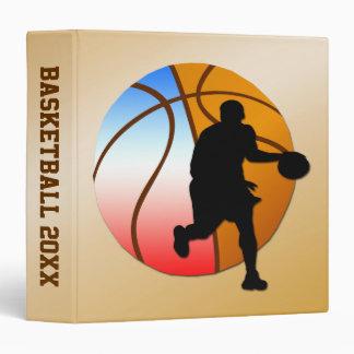 Basketball Memory Binder