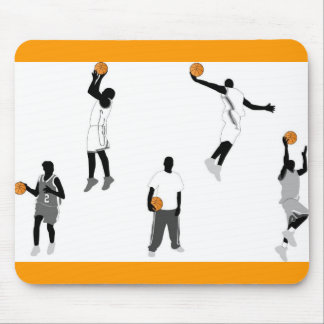 basketball-men mouse pad