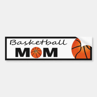 Basketball Mom Bumper Sticker