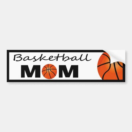 Basketball Mom Bumper Sticker