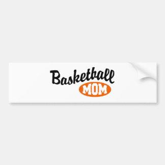 Basketball Mom Car Bumper Sticker