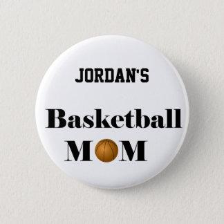 basketball mom button