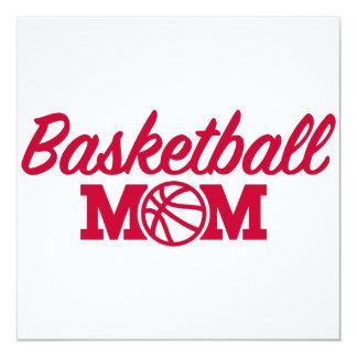 Basketball mom card