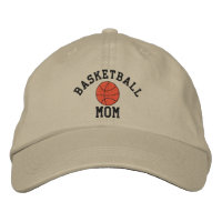 Basketball Mom Embroidered Hat