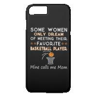 BASKETBALL MOM iPhone 7 PLUS CASE