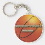 Basketball Mom Key Chain