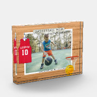 Basketball Mom | Mother's Day Photo Block