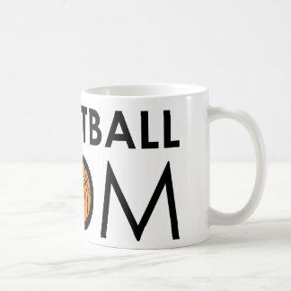 Basketball Mom Classic White Coffee Mug