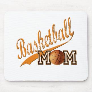 Basketball Mom Orange Mouse Pad