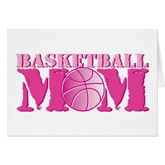 Basketball Mom Pink Card