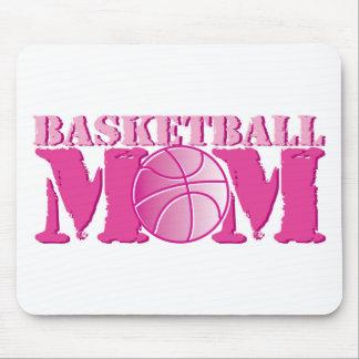 Basketball Mom Pink Mouse Pad