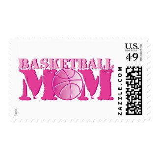 Basketball Mom Pink Postage
