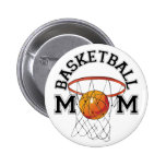 Basketball Mom Pins