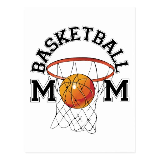 Basketball Mom Post Cards