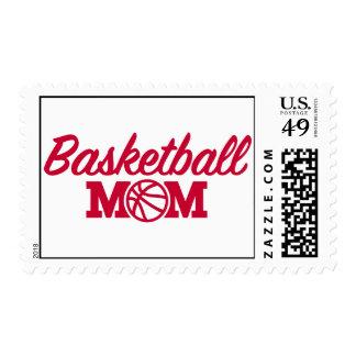 Basketball mom postage