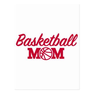 Basketball mom postcard