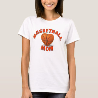 Basketball Mom - Powered by Caffeine T-Shirt
