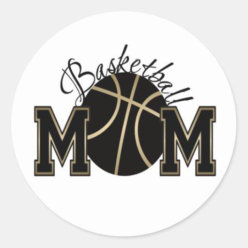 Basketball Mom Stickers