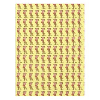 basketball monkey player pattern tablecloth