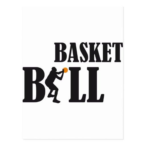 basketball more player postcard