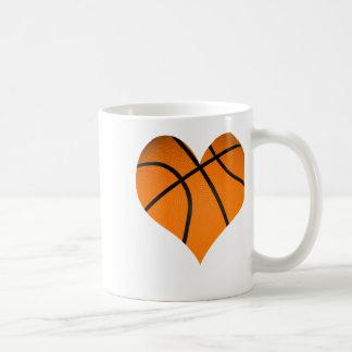 Basketball Classic White Coffee Mug