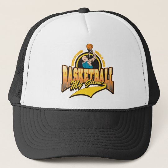 Basketball My Game Trucker Hat
