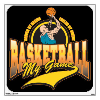 Basketball My Game Wall Sticker