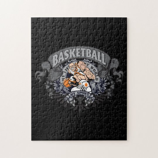 Basketball My Sport Jigsaw Puzzle