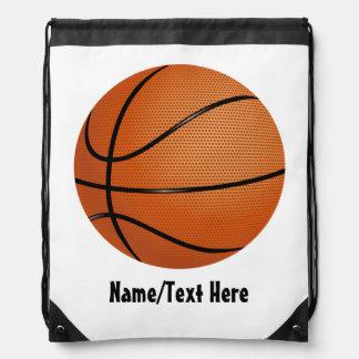 Basketball Name Customize Drawstring Backpack