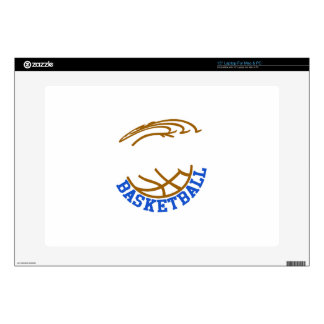 "Basketball Name Drop 15"" Laptop Skins"