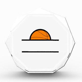 BASKETBALL NAME DROP ACRYLIC AWARD