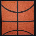 """Basketball Napkin<br><div class=""""desc"""">Basketball</div>"""