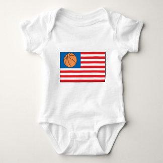 Basketball Nation Baby Bodysuit