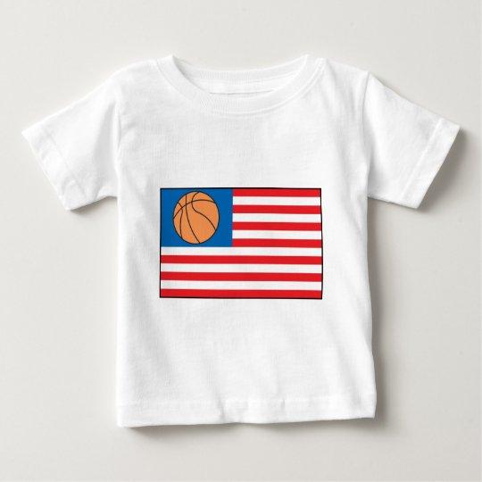 Basketball Nation Baby T-Shirt