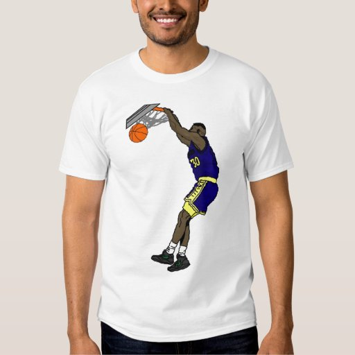 Basketball nba t shirt zazzle for Nba basketball t shirts