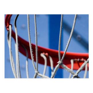 Basketball Net Closeup Postcard