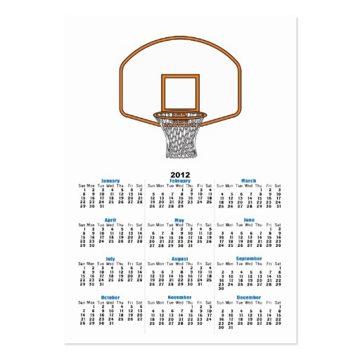 basketball net graphic business card templates
