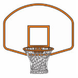 basketball net graphic cut out