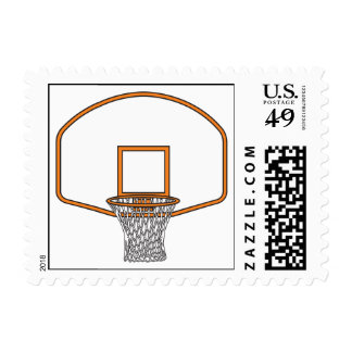 basketball net graphic stamp