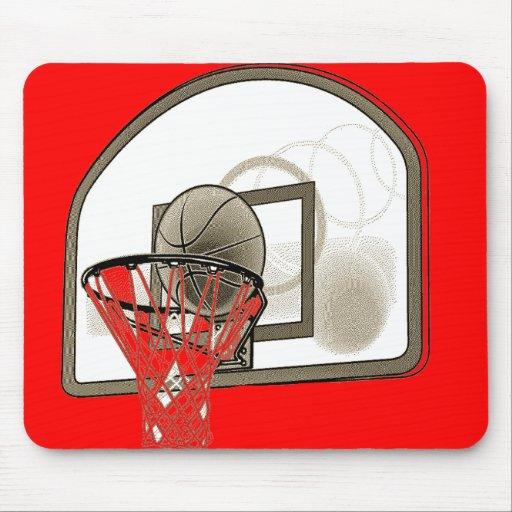 BASKETBALL NET MOUSE PAD