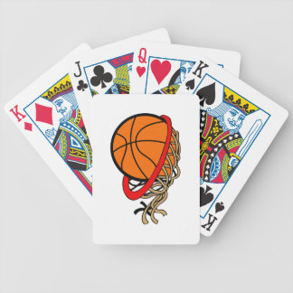 BASKETBALL NET BICYCLE PLAYING CARDS