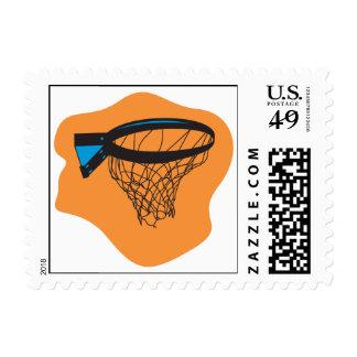 basketball net stamps