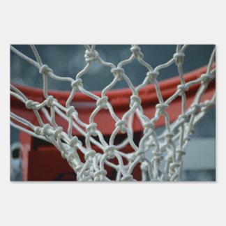 Basketball Net Yard Signs